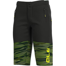 Alé Cycling Off-Road MTB Rock Shorts Men green/fluo yellow